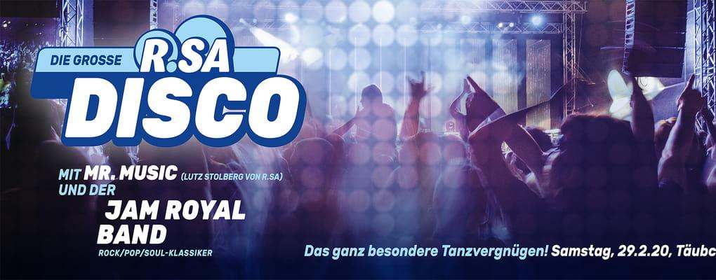 Die große R.SA Disco